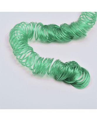 Волосы для кукол кудряшки длина уп.180см цв.зеленый арт. МГ-9572-1-МГ0651515