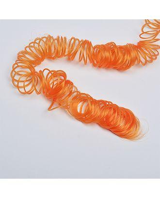 Волосы для кукол кудряшки длина уп.180см цв.оранжевый арт. МГ-9573-1-МГ0651516