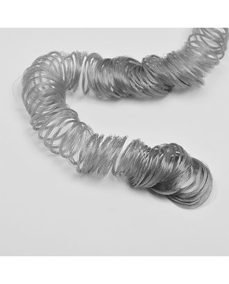 Волосы для кукол кудряшки длина уп.180см цв.серый арт. МГ-9576-1-МГ0651519