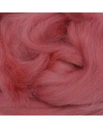 Шерсть для валяния ПЕХОРКА полутонкая шерсть (100%шерсть) 50г цв.021 брусника арт. МГ-55179-1-МГ0655049