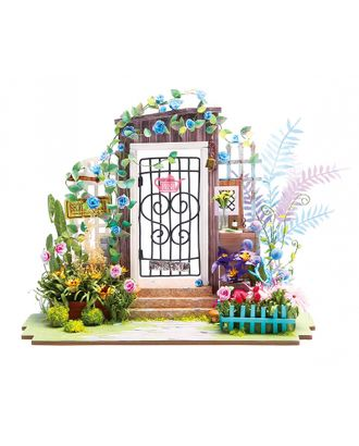 Румбокс Цветной Садовая калитка 21х12х17,5 см арт. МГ-9649-1-МГ0655674
