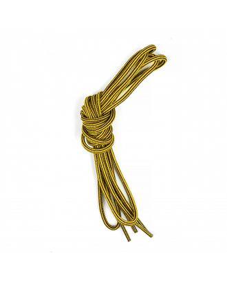 Шнурки круглые 3мм вощеные дл.100см цв. тимберленд (25 компл) арт. МГ-73633-1-МГ0659061