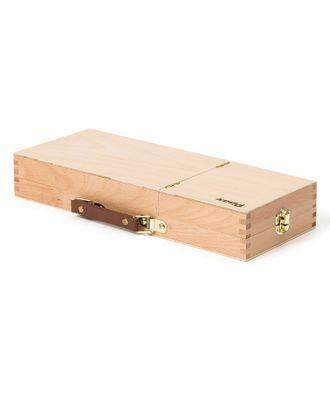 Ящик художника Pinax с ячейками и пеналом для кистей и красок, 3 секции, бук арт. МГ-73649-1-МГ0659428