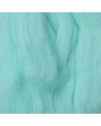Шерсть для валяния ПЕХОРКА полутонкая шерсть (100%шерсть) 50г цв.222 голубая бирюза арт. МГ-55333-1-МГ0659448