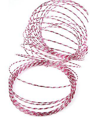 Проволока декор. 109/25 пандора малиновая (0.5см х 15м) арт. МГ-80654-1-МГ0660984