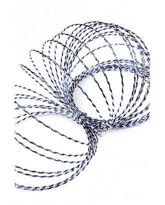 Проволока декор. 109/35 пандора синяя (0.5см х 15м) арт. МГ-80655-1-МГ0660985