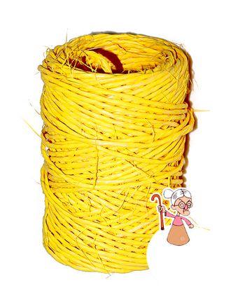 Шнур декор. 01/30 синтет. дольче желтый (3мм х 30м) арт. МГ-80677-1-МГ0661484