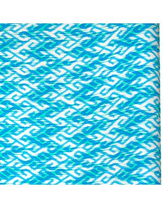 Бумага капелла 20/20-50 бегущие ромбы на голубом (70см х 10м) арт. МГ-55809-1-МГ0661581