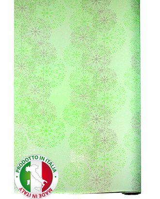 Бумага капелла 41/265-40 одуванчики салатовые (100см х 10м) арт. МГ-55830-1-МГ0661604