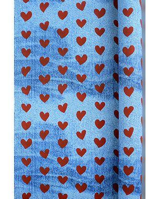 Бумага капелла 41/432-20 любовь и джинсы красная (100см х 10м) арт. МГ-55845-1-МГ0661619