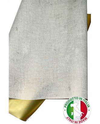 Бумага капелла 42/605-13 двуст. лен кремовый с золотом (70см х 10м) арт. МГ-55955-1-МГ0662471