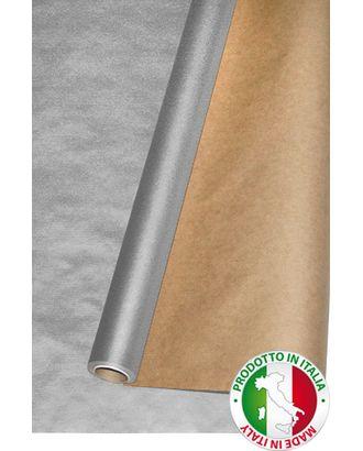 Бумага крафт 12/70 дольче натура - серебро (100см х 10м) арт. МГ-56059-1-МГ0662575
