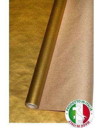 Бумага крафт 12/75 дольче натура - золото (100см х 10м) арт. МГ-56060-1-МГ0662576