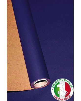 Бумага крафт 21/58 дольче экошик - темно-синяя (70см х 10м) арт. МГ-56125-1-МГ0662642