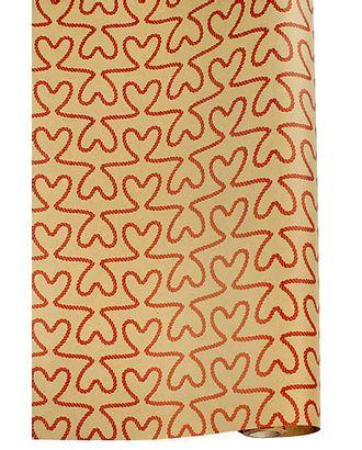 Бумага крафт 22/401-20 дольче экошик- любовные связи (70см х 10м) арт. МГ-56135-1-МГ0662652