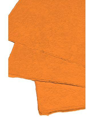 Бумага малбери 11/35 однотон.- оранжевая (55х79см) арт. МГ-56152-1-МГ0662669