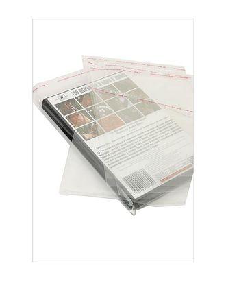 Пакет прозр. без рис. 219 со скотчем (19х16см) арт. МГ-56786-1-МГ0664511