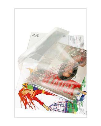 Пакет прозр. без рис. 227 со скотчем (27х21см) арт. МГ-56954-1-МГ0664709