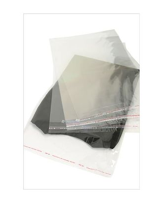Пакет прозр. без рис. 238 со скотчем (38х27см) арт. МГ-56956-1-МГ0664711