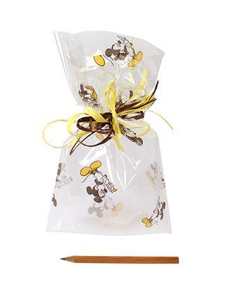 Пакет прозр. с рис. 525/171-70 Творческий Микки (25х15см) арт. МГ-56966-1-МГ0664721