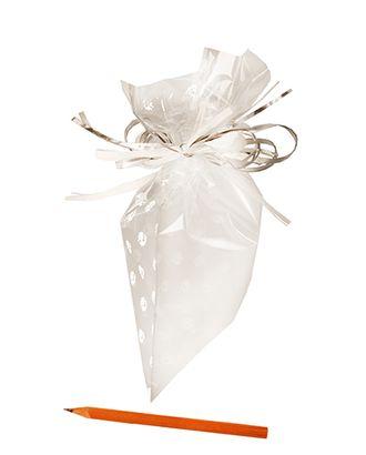 Пакет полупрозр. с рис. 725/103-00 сад хризантем белый (25х15см) арт. МГ-56977-1-МГ0664732