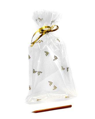 Пакет прозр. с рис. 535/106-11 золотые веточки (35х18см) арт. МГ-57057-1-МГ0664818