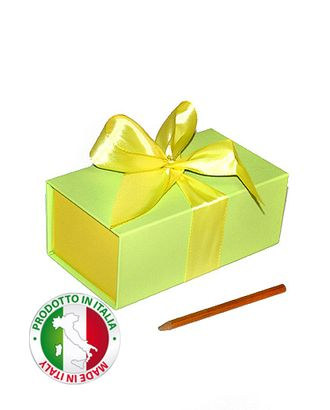 Коробка см прямоуг.- лайм-лимон (18х10х7см) арт. МГ-58097-1-МГ0667427