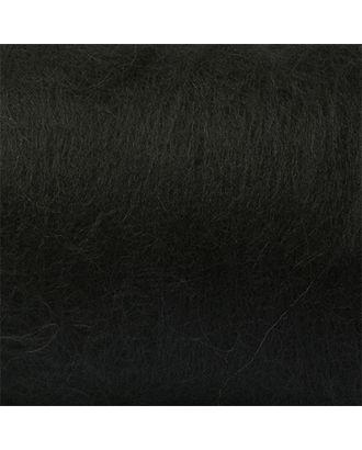 "Шерсть для валяния КАМТ ""Кардочес"" (100% шерсть п/т) 1х100г цв.003 черный арт. МГ-59697-1-МГ0671341"