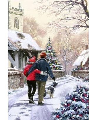 Алмазная мозаика Ah5255 Время Рождества 40х60 арт. МГ-10073-1-МГ0671477