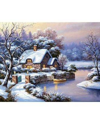 Алмазная мозаика Ah5262 Уютный домик 40х50 арт. МГ-10080-1-МГ0671484