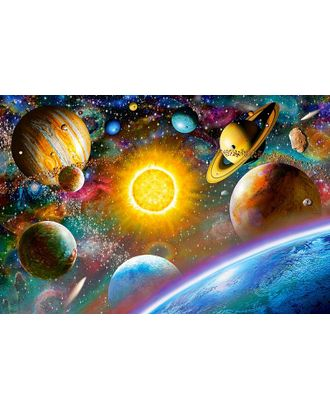 Алмазная мозаика Ah5225 Красочная вселенная 40х60 арт. МГ-10083-1-МГ0671487