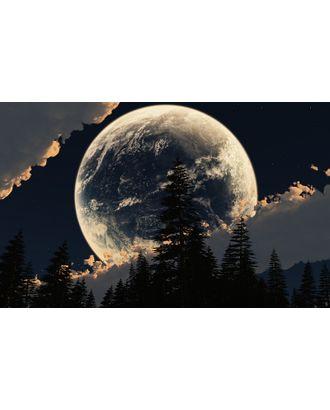 Алмазная мозаика Ah5226 Луна за облаками 40х60 арт. МГ-10084-1-МГ0671488