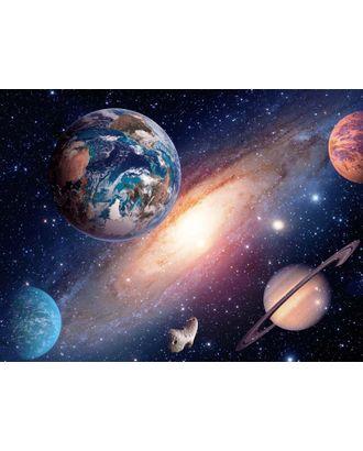 Алмазная мозаика Ah5228 Планеты в космосе 40х60 арт. МГ-10085-1-МГ0671489
