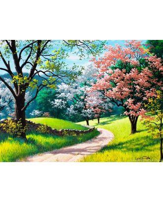 Алмазная мозаика Ah2356 Цветущая весна 40х50 арт. МГ-10125-1-МГ0671529