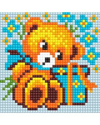 Алмазная мозаика Ah5196 Медвежонок 10х10 арт. МГ-10149-1-МГ0671553