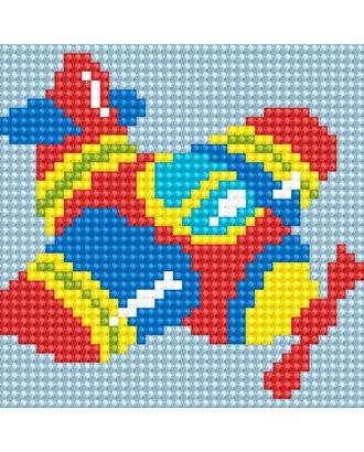 Алмазная мозаика Ah5220 Самолетик 10х10 арт. МГ-10164-1-МГ0671568