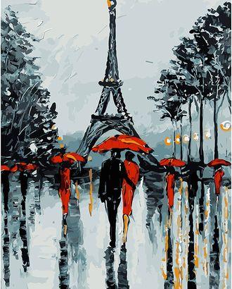 К по номерам на дереве DALI ФТ.WS024 Парижские зонтики 40х50 см арт. МГ-59836-1-МГ0673810