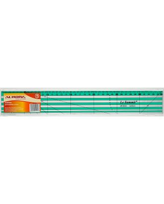 Линейка для пэчворка Aurora AU-0535 5х35см арт. МГ-59941-1-МГ0674056