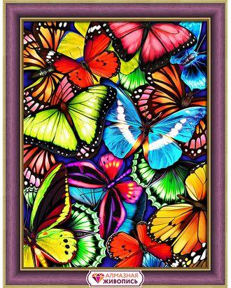 """Набор для изготовления к """"АЛМАЗНАЯ ЖИВОПИСЬ"""" «Яркие бабочки» 30х40 см арт. МГ-10194-1-МГ0676837"""