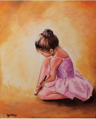 Алмазная вышивка Балерина малышка LE038 30х40 тм Цветной арт. МГ-10209-1-МГ0677702