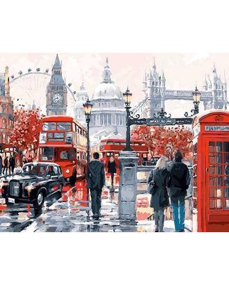 Алмазная вышивка Очарование Лондона LG049 40х50 тм Цветной арт. МГ-10216-1-МГ0677723