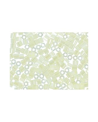 """Бисер Япония """"TOHO"""" 11/0  HEXAGON №3  2.2 мм 5 х 5 г №0142 бл.желтый/перл арт. МГ-60141-1-МГ0678186"""