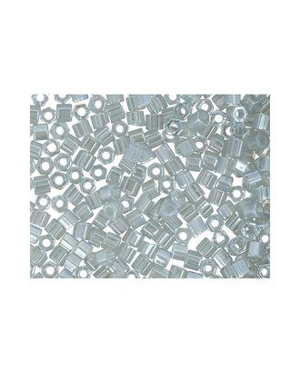 """Бисер Япония """"TOHO"""" 11/0  HEXAGON №3  2.2 мм 5 х 5 г №0150 серый/перл арт. МГ-60151-1-МГ0678196"""