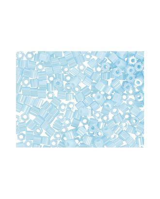 """Бисер Япония """"TOHO"""" 11/0  HEXAGON №3  2.2 мм 5 х 5 г №0124 голубой/перл арт. МГ-60159-1-МГ0678204"""