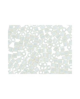 """Бисер Япония """"TOHO"""" 11/0  HEXAGON №3  2.2 мм 5 х 5 г №0122 молочный/перл арт. МГ-60165-1-МГ0678210"""