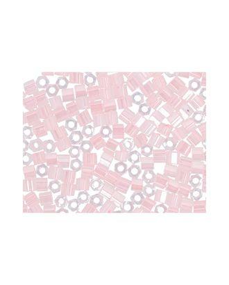 "Бисер Япония ""TOHO"" 11/0  HEXAGON №3  2.2 мм 5 х 5 г №0145 св.розовый/перл арт. МГ-60172-1-МГ0678217"