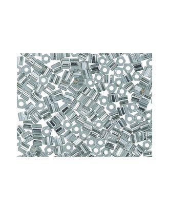 "Бисер Япония ""TOHO"" 11/0  HEXAGON №3  2.2 мм 5 х 5 г №0029 т.серебристый арт. МГ-60175-1-МГ0678220"