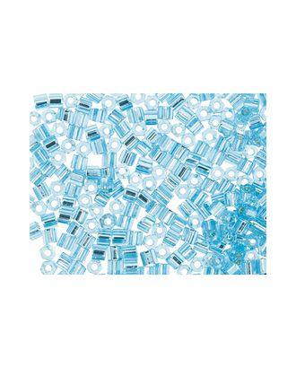 "Бисер Япония ""TOHO"" 11/0  HEXAGON №3  2.2 мм 5 х 5 г №0023 св.голубой арт. МГ-60176-1-МГ0678221"