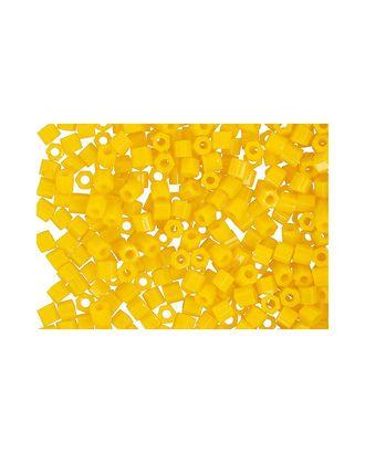 """Бисер Япония """"TOHO"""" 11/0  HEXAGON №3  2.2 мм 5 х 5 г №0042B желтый арт. МГ-60183-1-МГ0678228"""