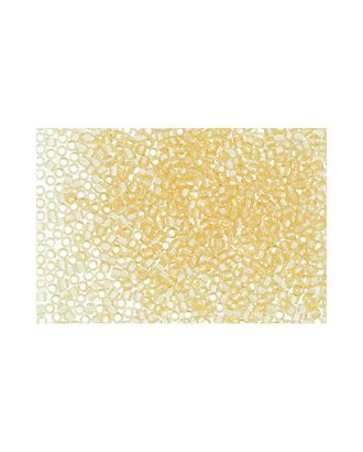 """Бисер Япония """"TOHO"""" 11/0  TREASURE №1  1.6 мм 5 х 5 г №0002 св.желтый арт. МГ-60227-1-МГ0678274"""